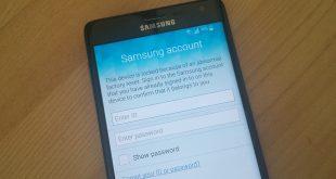حذف حساب سامسونغ لجهاز نوت 4 Note 4 N910C